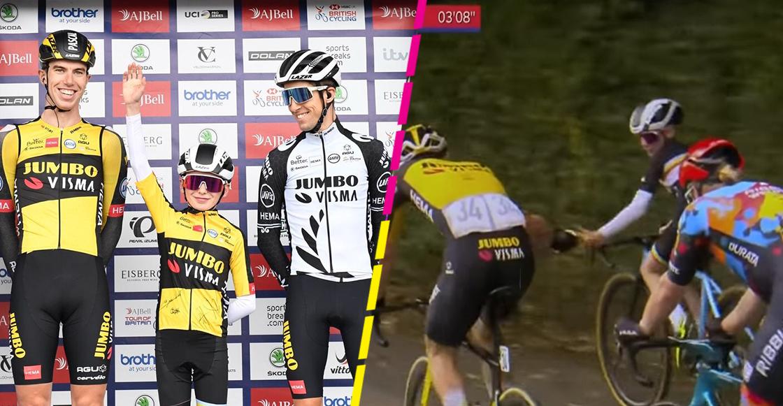 Xander Graham, el pequeño 'sprinter' que robó reflectores en el Tour de Gran Bretaña
