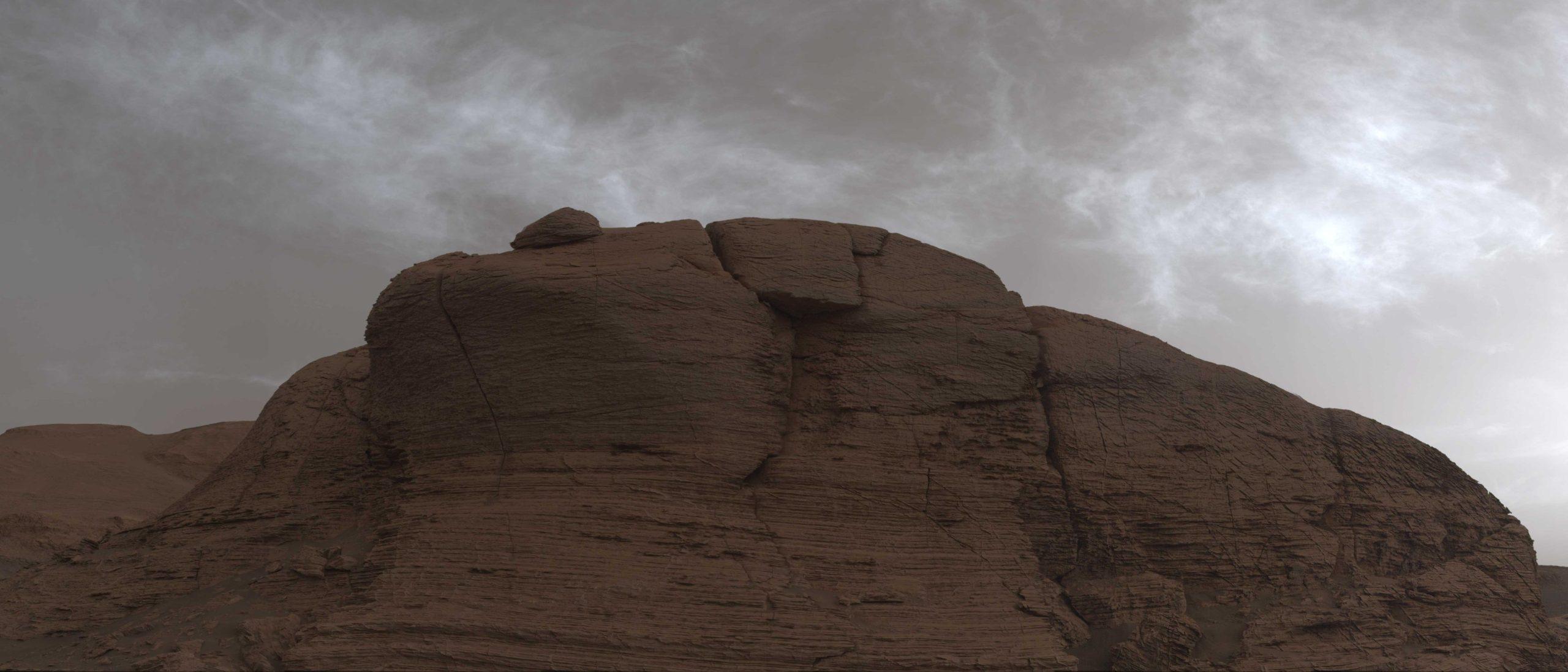 Curiosità su Marte nuvoloso oggi