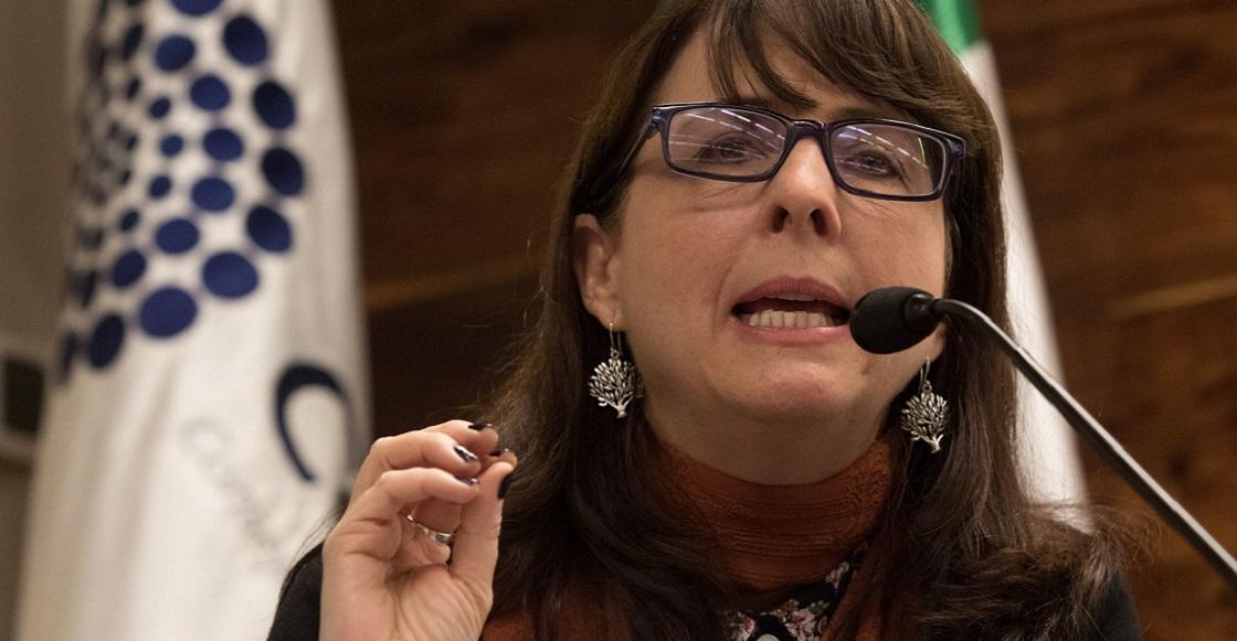 CIUDAD DE MÉXICO, 05FEBRERO2019.- María Elena Álvarez-Buylla Roces, directora del Consejo Nacional de Ciencia y Tecnología (Conacyt), presentó su plan Nacional de Ciencia y Tecnología.