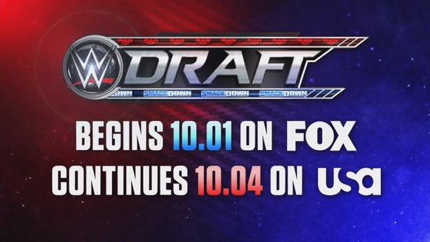 WWE Draft returns in 2021