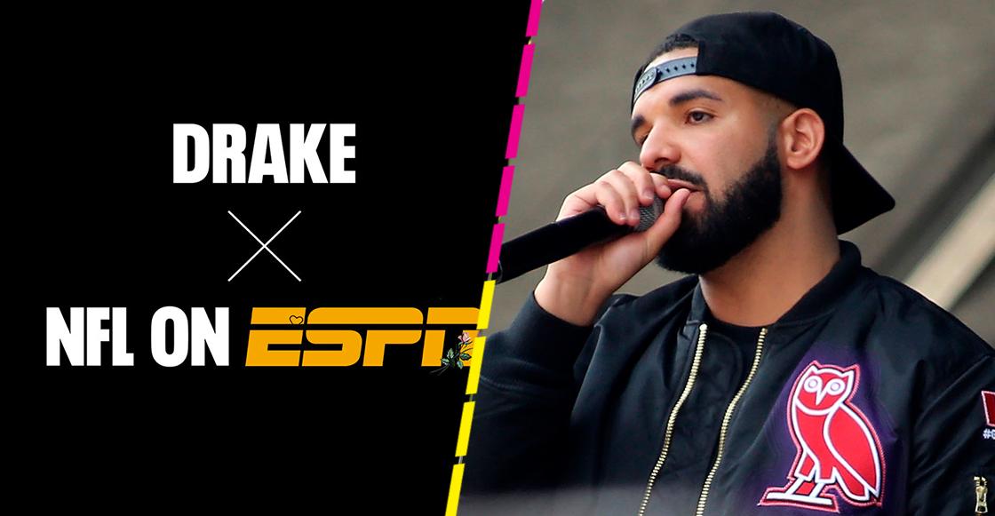 ¡Started From The Bottom! Drake se encargará de la música para los lunes por la noche en la NFL
