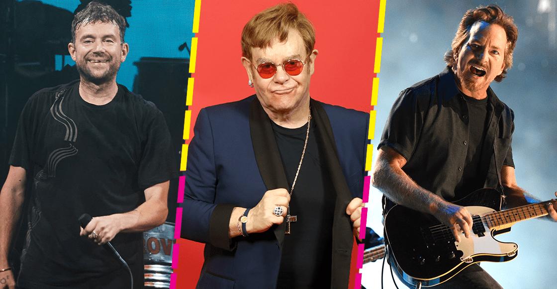 ¡Elton John junta a Gorillaz, Eddie Vedder y más en un disco de colaboraciones!