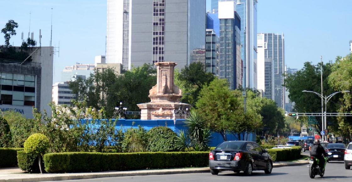 Pondrán estatua de una mujer indígena en lugar del monumento a Colón en Reforma