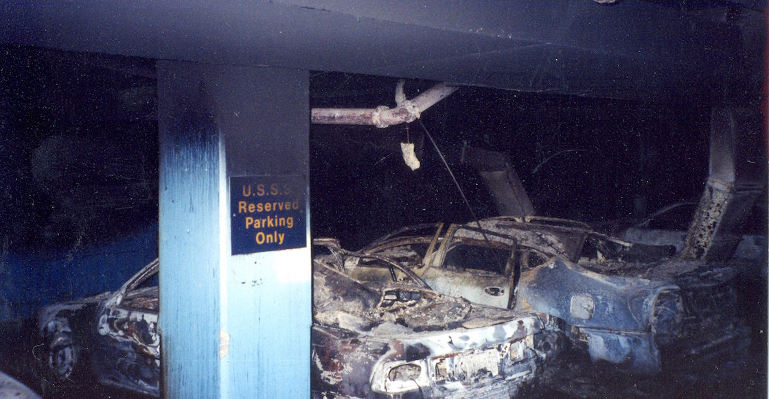 Unpublished photosNever seen September 11, the New York Secret Service of the Twin Towers 911-11S-04