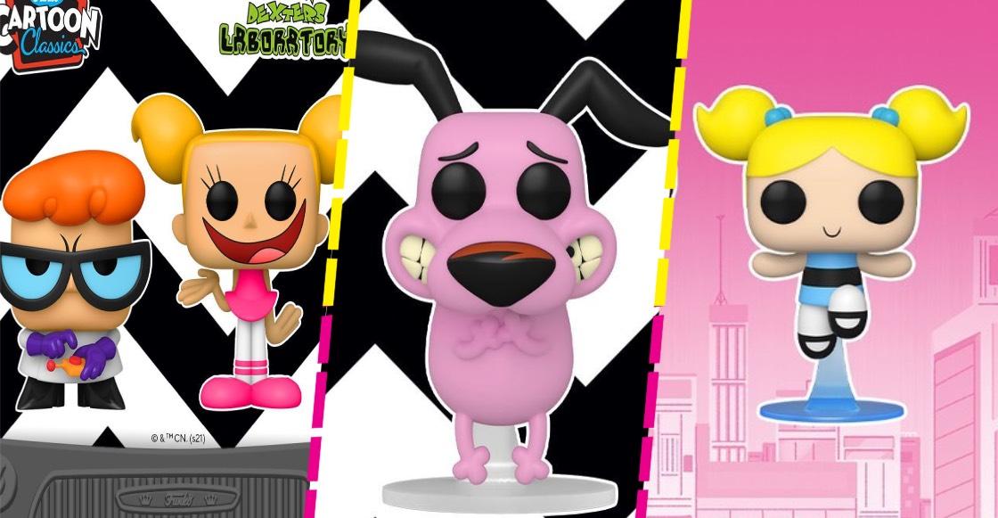 Funko anuncia figuras de 'El laboratorio de Dexter', 'Coraje: el perro cobarde' y más