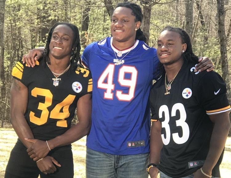 Edmunds Brothers with Steelers and Bills