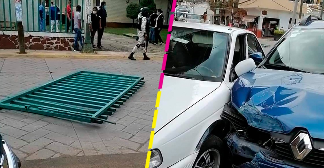 Tenía COVID y se fugó de un hospital en Estado de México: Roba coche, choca y huye a pie