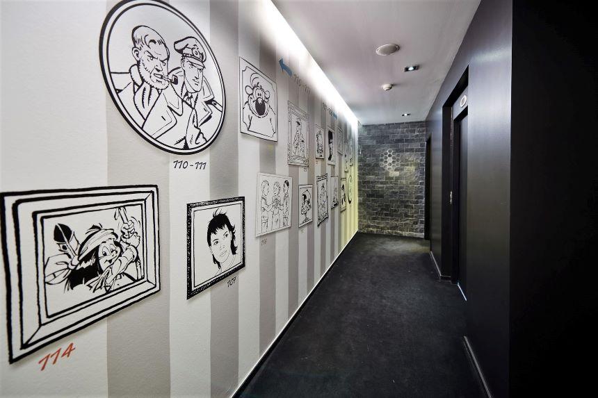 ¡¿Quién se apunta?! Bruselas abre su primer hotel temático dedicado al cómic