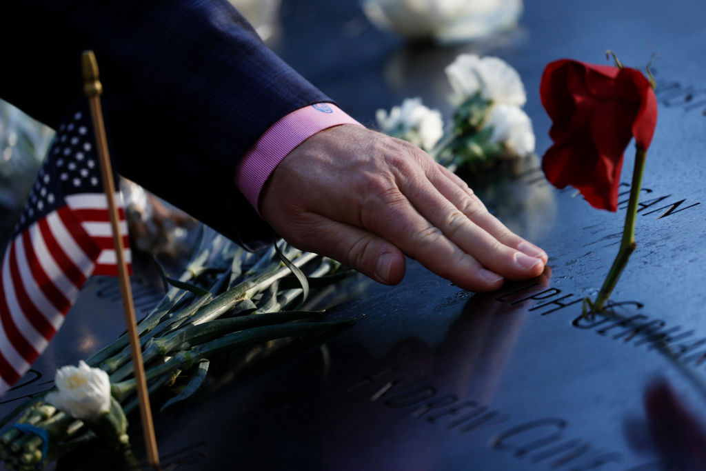 Tribute to the victims on September 11