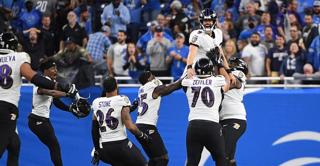 ¡Justin Tucker hace historia! El gol de campo más largo de la NFL desde diferentes ángulos