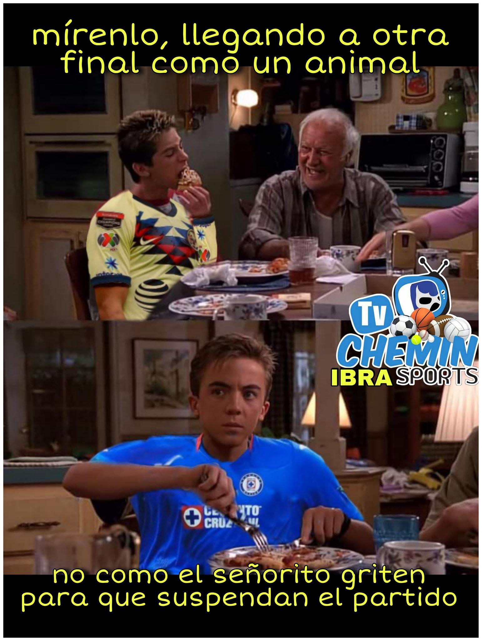 memes cruz azul vs monterrey