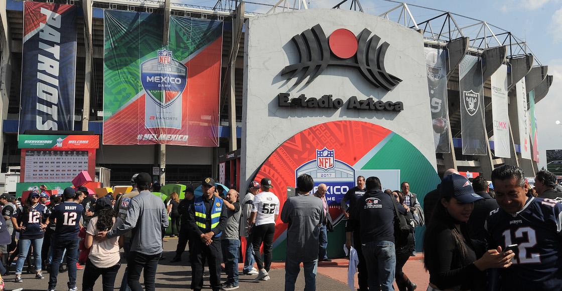 NFL regresará a México con juegos en 2022 y 2023