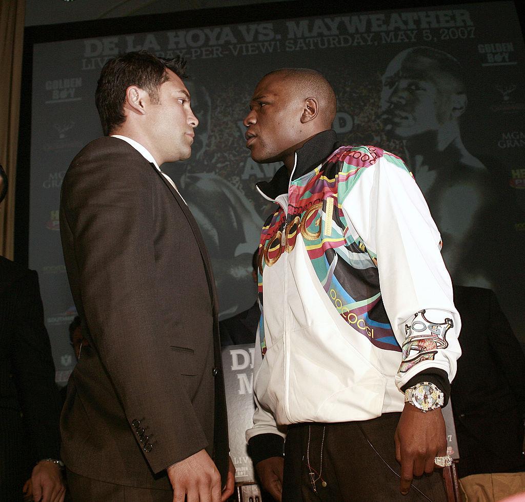 Óscar de la Hoya vs Floyd Mayweather en 2007
