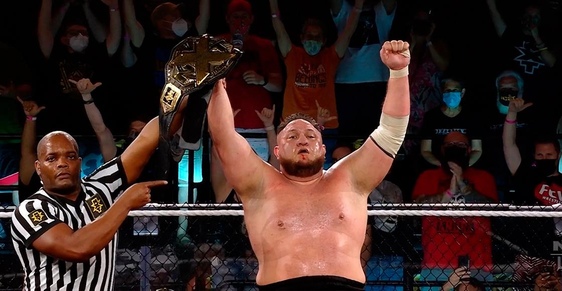 ¡WWE tenemos un problema! Samoa Joe se ve obligado a dejar el título de la NXT