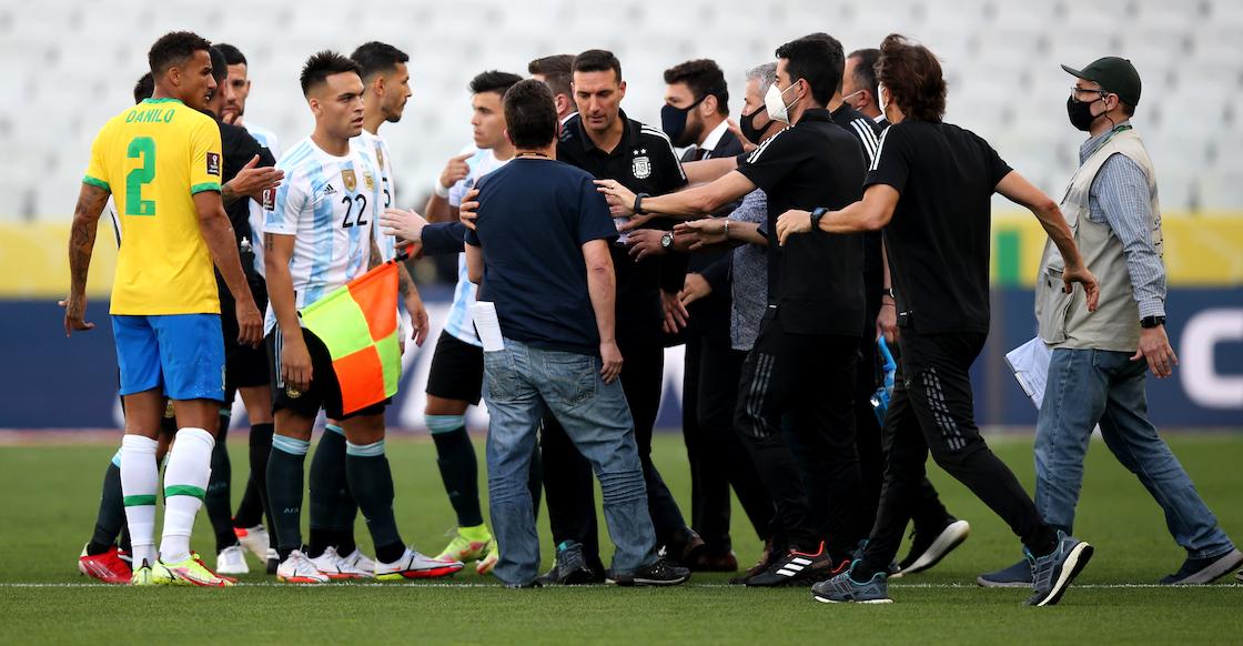 Seis puntos para entender el escándalo del juego suspendido entre Brasil y Argentina