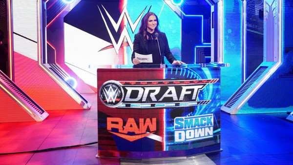 Stephanie McMahon in the 2016 WWE Draft