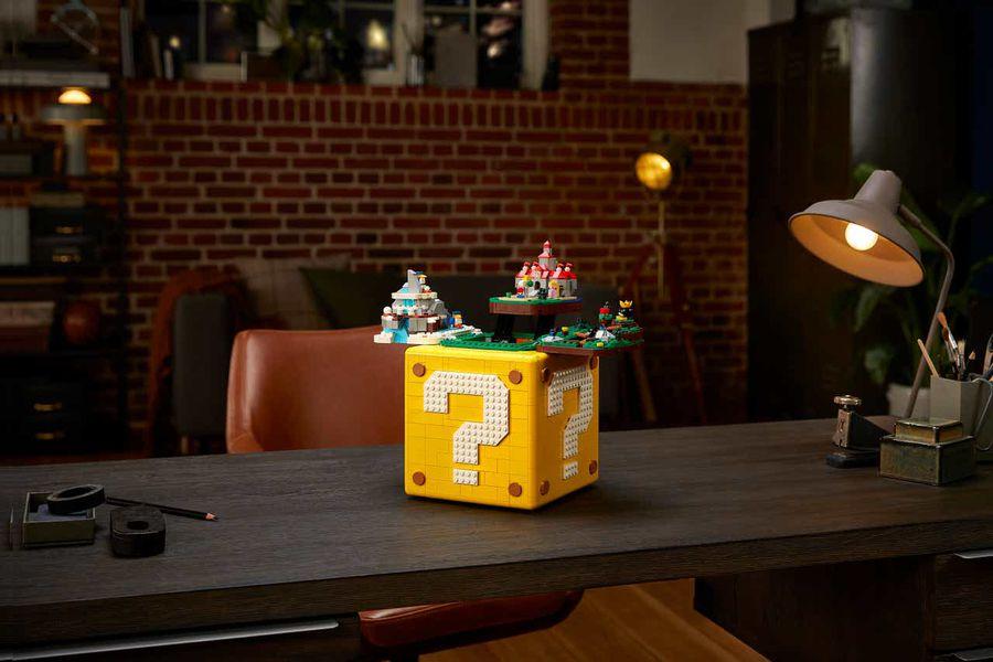 """Lego y Nintendo se unen para celebrar los 25 años de """"Super Mario 64"""""""