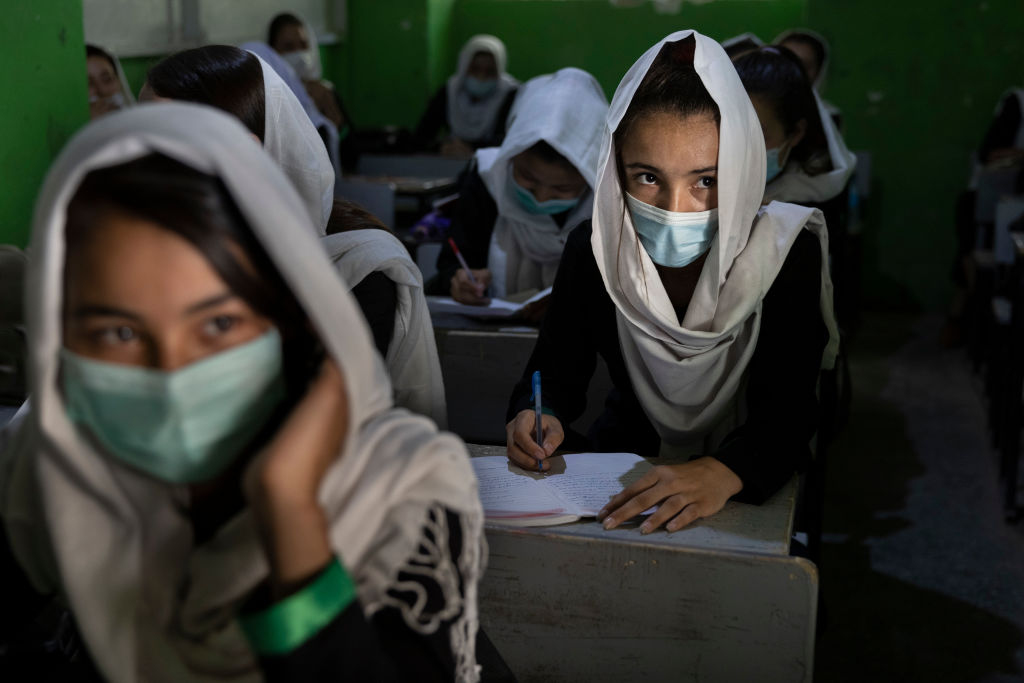 The Taliban will allow women to study in Afghanistan...separate from men