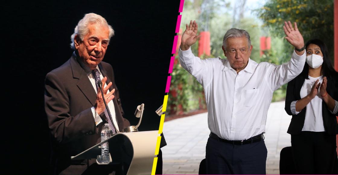 """""""AMLO se quiere reelegir, sin ninguna duda"""": Dice Mario Vargas Llosa en entrevista con Loret"""
