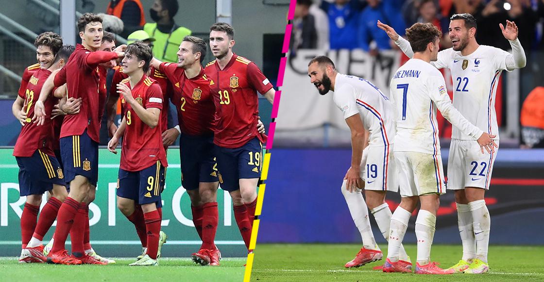 Así se jugará la final de la UEFA Nations League entre España y Francia