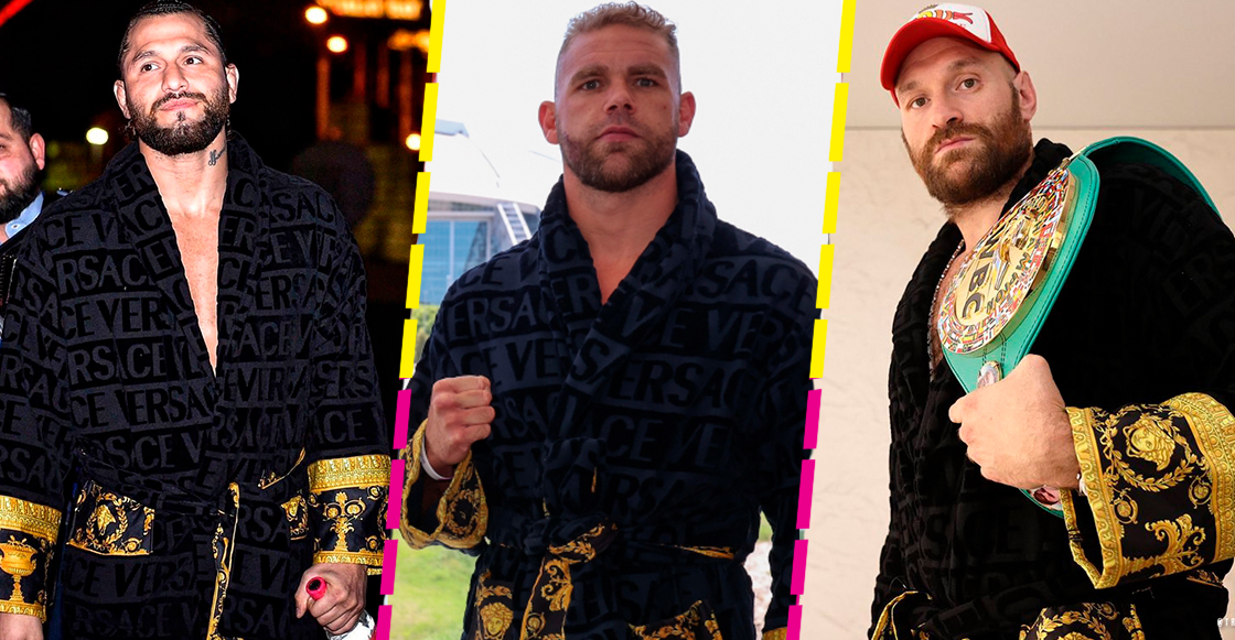 Conoce la maldición de la bata Versace en los peleadores de box y MMA