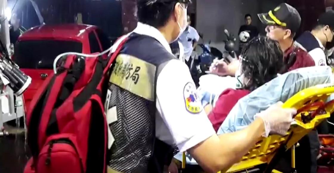 Incendio Kaohsiung Taiwan 2