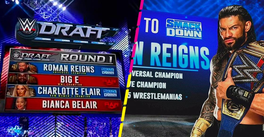 Sorpresas y confirmaciones: Todo lo que dejó el draft de la WWE para Raw y SmackDown