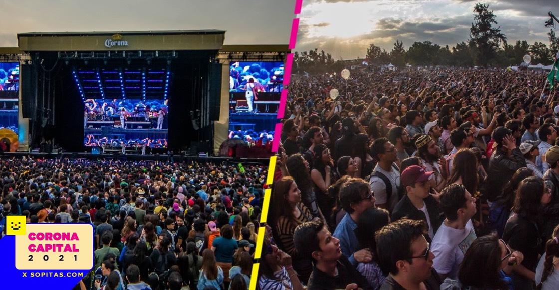 Así es como el Corona Capital 2021 busca reactivar la industria del entretenimiento en vivo