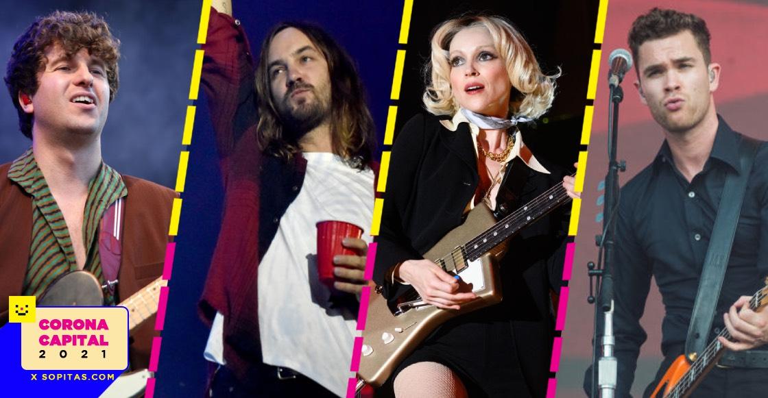 QUIZ: Demuestra qué tanto sabes sobre las bandas headliners de Corona Capital 2021