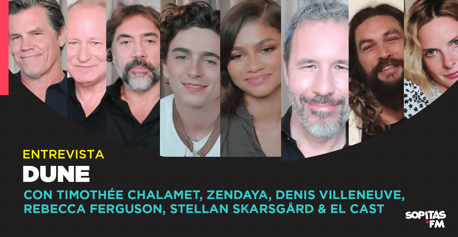 'Dune': Entrevista con Timothée Chalamet, Zendaya, Denis Villeneuve y el elenco