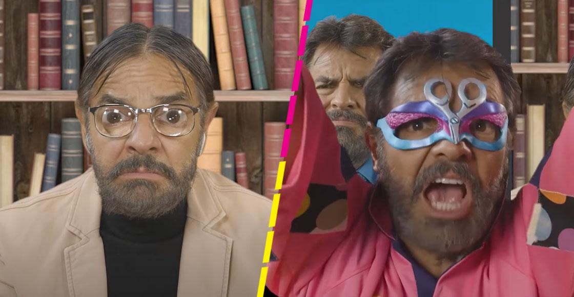 ¡Córtale, mi chavo! Eugenio Derbez 'revive' al Súper Portero (y otros personajes) para erradicar el grito homofóbico