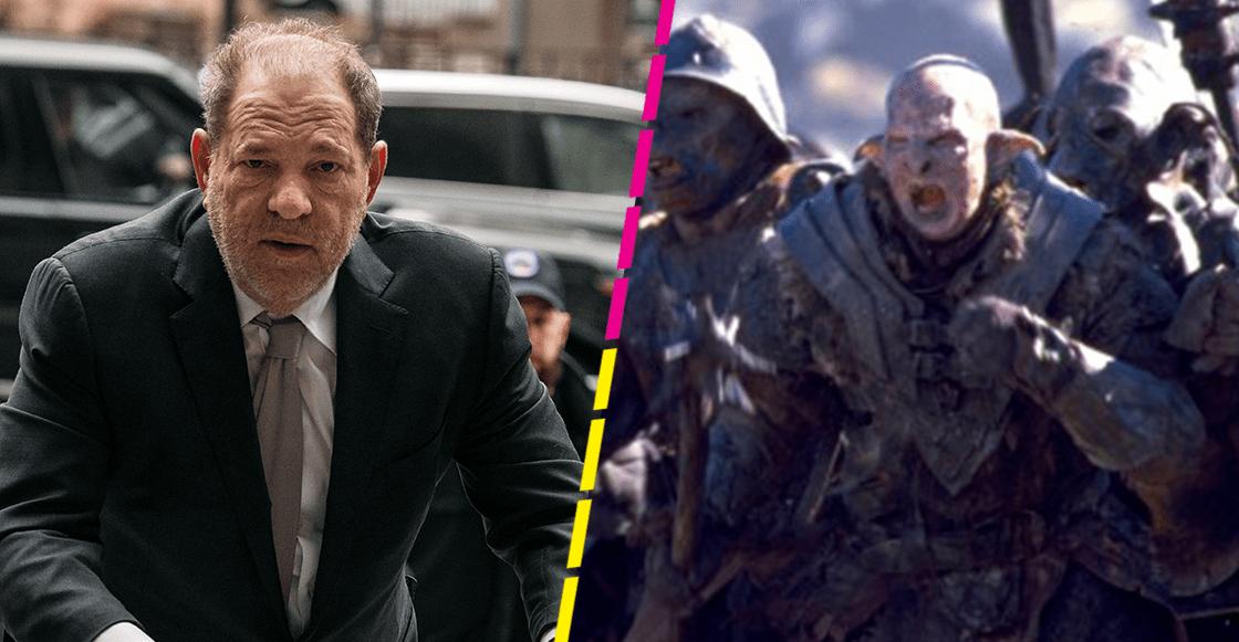 Un orco de 'El Seños de los Anillos' fue creado para verse como Harvey Weinstein