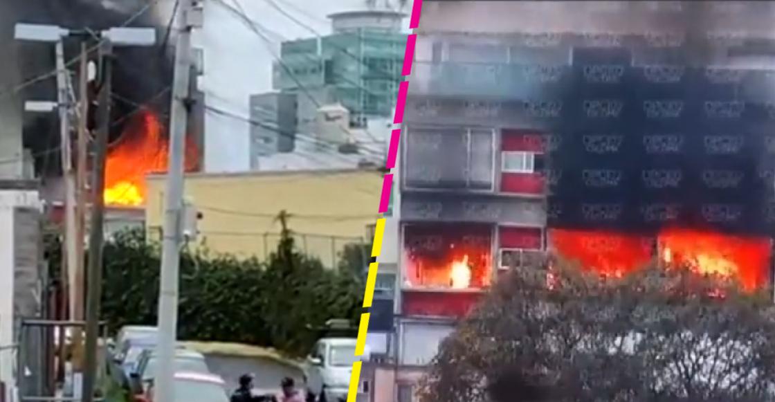 Incendio en Cuajimalpa
