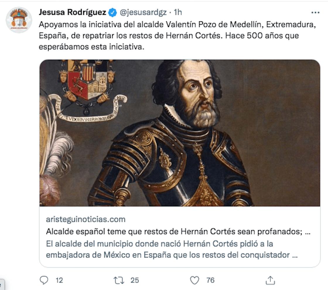 Jesus Rodriguez Hernan Cortez