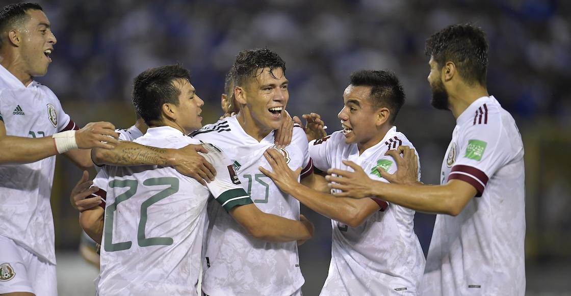 Selección Mexicana vs El Salvador