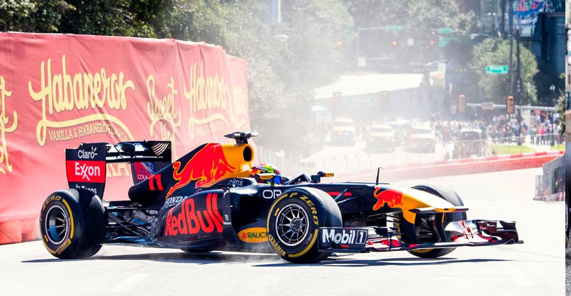 Horarios, accesos y transporte: Todo lo que debes saber sobre el Red Bull Show Run en Reforma con Checo Pérez