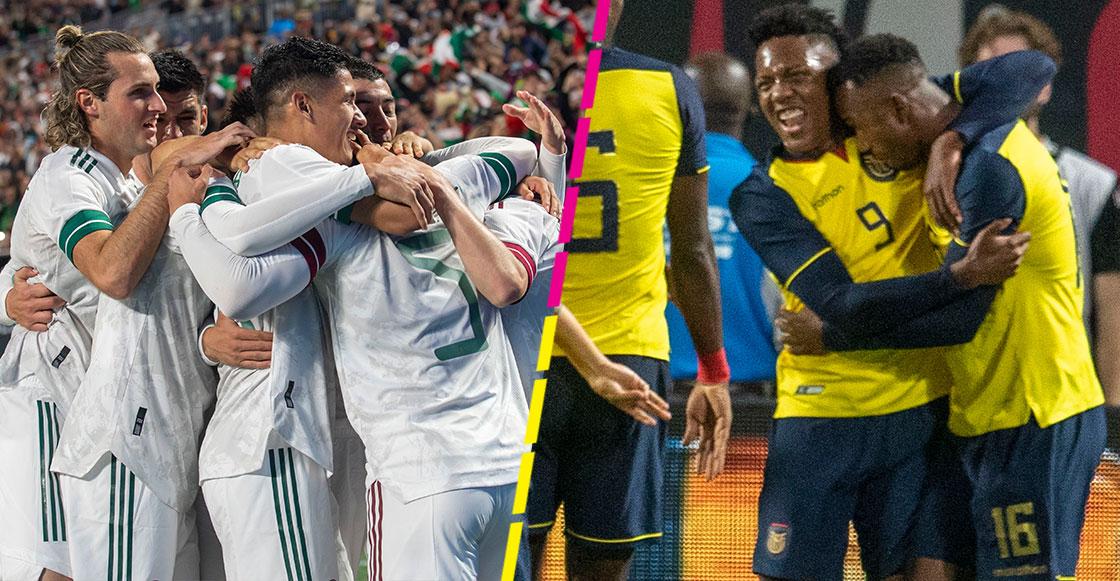 El golazo de Osvaldo Rodríguez y el descontrol del camarógrafo en la derrota de México ante Ecuador