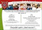 Fiatal március - városi ünnepség