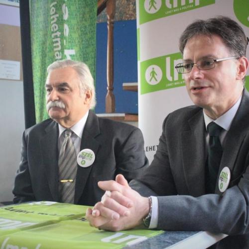 Szakács Gyula az LMP soproni jelöltje a közelgő választásokon