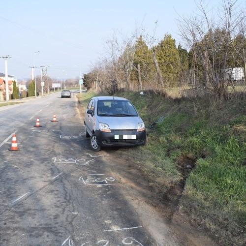 Két személyi sérüléssel járó baleset is történt hétfőn Sopronban