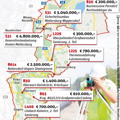 Az útépítések éve az idei Burgenlandban is
