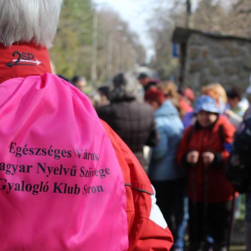 A Soproni Gyalogló Klub első közös túráját tartották a Lövérekben