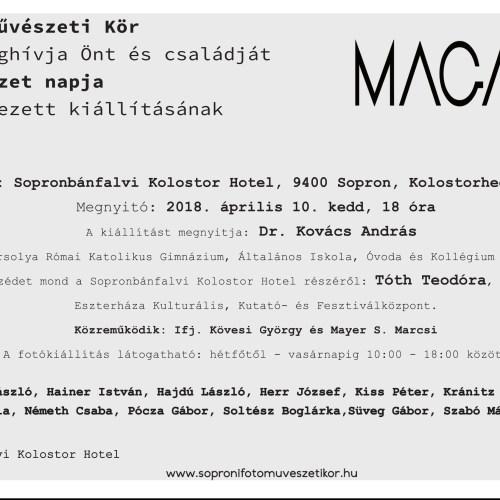 Kedden nyílik a Soproni Fotóművészeti Kör legújabb kiállítása
