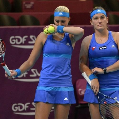 Madridi tenisztorna – Döntős a Babos, Mladenovic páros