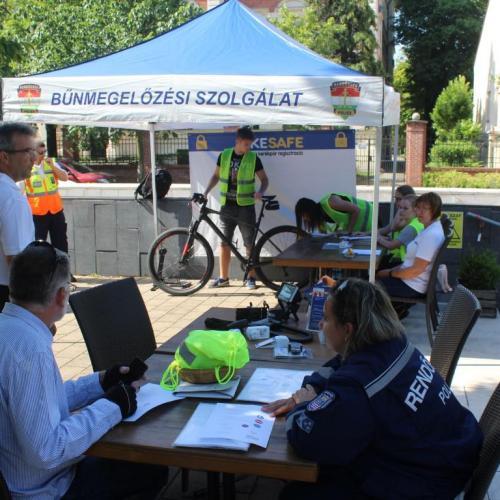 BIKESAFE – Kerékpár regisztrációs akció volt Sopronban ( videó )