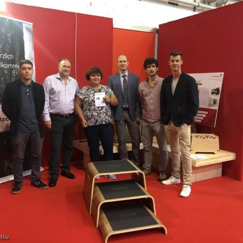 Soproni egyetemisták klagenfurti sikerei
