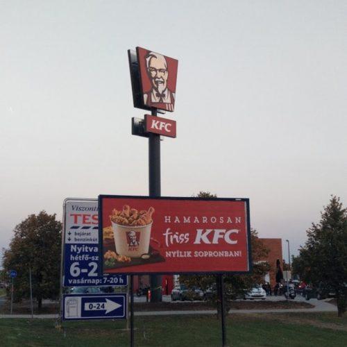 Megnyitott a soproni KFC