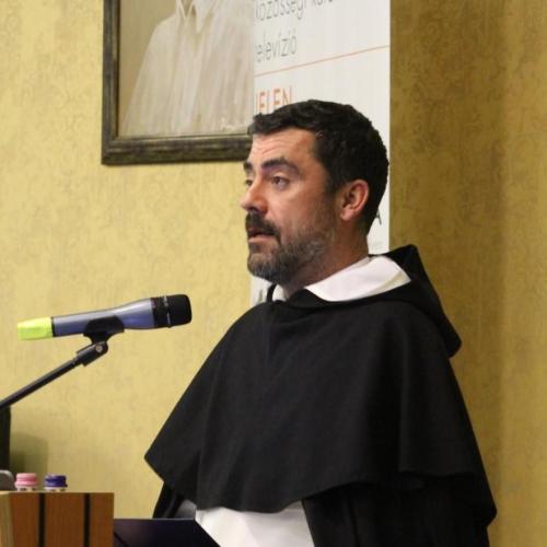 Október 9-én helyezik örök nyugalomra Barna F. Máté domonkos szerzetest