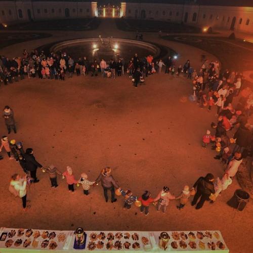 Márton napi lámpás felvonulás Eszterházán