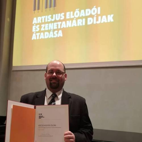 Artisjus elismerés a soproni karnagynak
